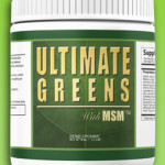 Tony Robbins Ultimate Greens with MSM Green Drink