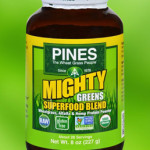 Pines Superfoods Mighty Greens Blend Powder